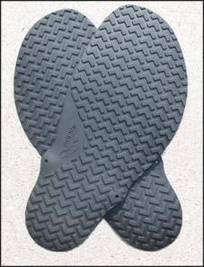 Chevron soles