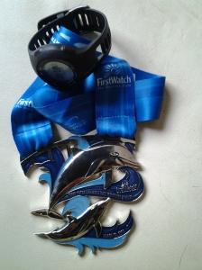 Sarasota Half 2013 medal