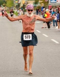 Milton Half Marathon 2013 finish