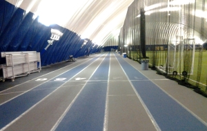 Louis Riel Dome track